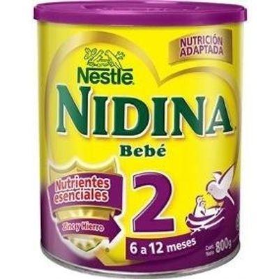 Nan en Pedidosfarma  Leche En Polvo Nestle Nidina Bebe 2 De 6 A 12 Meses  800 Gr - pedidosfarma ec29aee470dc9