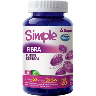Simple-Bago-Fibra-Pastillas-De-Goma-Transito-Intestinal-60-U-en-Pedidosfarma
