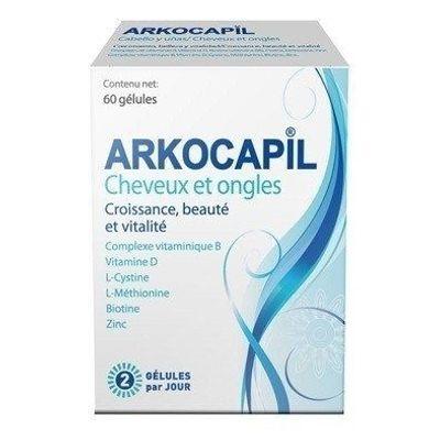 Arkocapil-Fortelecedor-Belleza-De-Cabello-Y-Uñas-60-Capsulas-en-Pedidosfarma