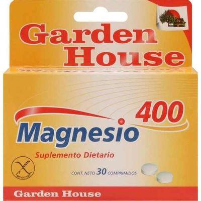 Garden-House-Magnesio-400-Calambres-Huesos-Artrosis-30-Comp-en-Pedidosfarma