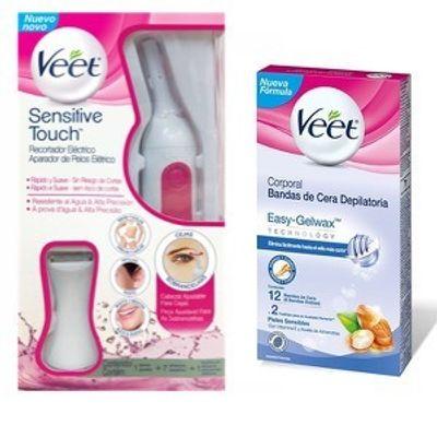 Depiladora-Veet-Sensitive-Touch---Bandas-Cera-Depilatoria-en-Pedidosfarma