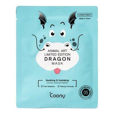 Coony-Mascarilla-Facial-Dragon-Mask-Relajante-Calmante-en-Pedidosfarma
