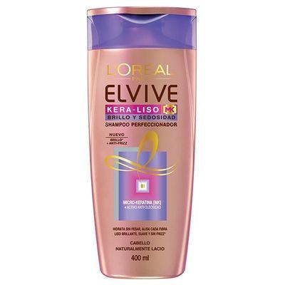 Loreal-Elvive-Kera-liso-Brillo-Y-Sedosidad-Shampoo-400ml-en-Pedidosfarma