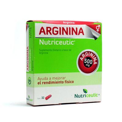 Arginina-Potenciador-Del-Rendimiento-Fisico-X-32-Capsulas-en-Pedidosfarma