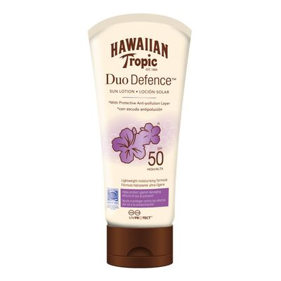 Hawaiian-Tropic-Duo-Defence-Locion-Fps50---180ml-en-Pedidosfarma