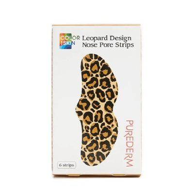Purederm-Leopard-Design-Nose-Pore-Strips-6-Unid-en-Pedidosfarma