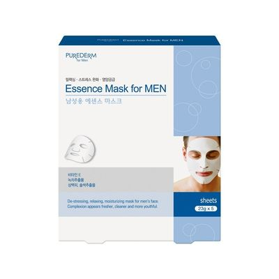 Purederm-Essence-Mask-For-Men-Mascara-Facial-Para-Hombres-5u-en-Pedidosfarma