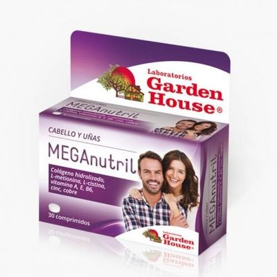 Garden-House-Meganutril-Crecimiento-Cabello-30-Comprimidos-en-Pedidosfarma
