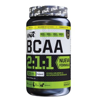 Ena-Sport-Bcaa-2-1-1-Recuperador-Muscular-X-90-Caps-en-Pedidosfarma
