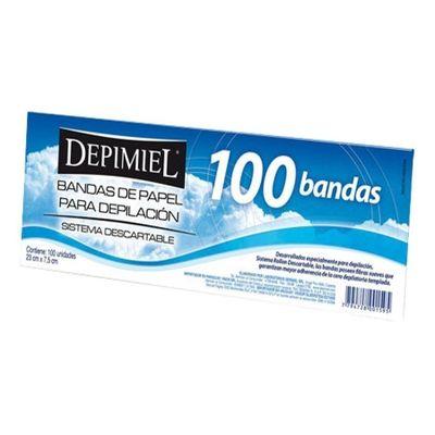 Depimiel-Bandas-De-Papel-Para-Retirar-Cera-X-100-Unids-en-Pedidosfarma