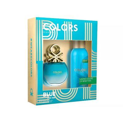 Perfume-Estuche-Mujer-Benetton-Colors-Blue-80ml---Deo-150ml-en-Pedidosfarma