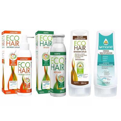 Eco-Hair-Combo-Anticaida-Locion-Shampoo-Y-Acon---Crema-Umane-en-Pedidosfarma
