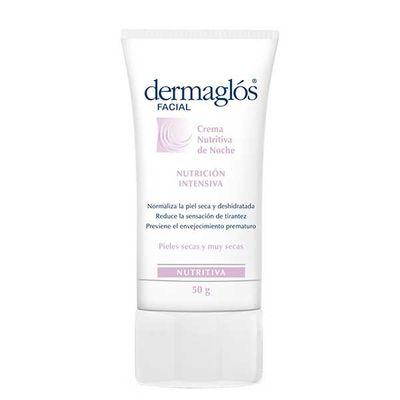 Dermaglos-Crema-Facial-Nutritiva-Noche-Piel-Seca-50grs