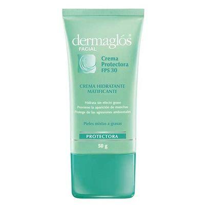 Dermaglos-Crema-Facial-Protectora-F30-50g-Piel-Mixta-A-Grasa