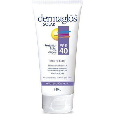 Dermaglos-Protector-Solar-Fps-40-Efecto-Seco-X-180grs