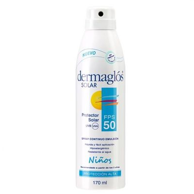 Dermaglos-Solar-Spray-Continuo-Emulsion-Fps-50-Niños-X-170ml