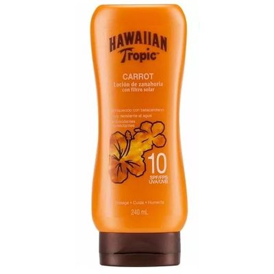 Hawaiian-Tropic-Locion-De-Zanahoria-Con-F-Solar-10-X--240ml