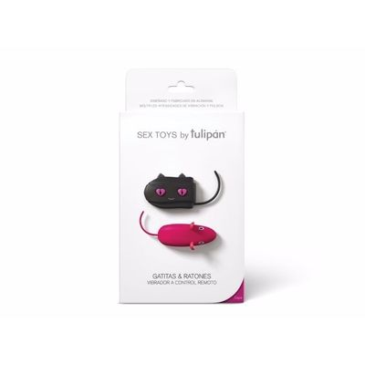Sex-Toy-Gatitas-Y-Ratones-Vibrador-A-Control-Remoto