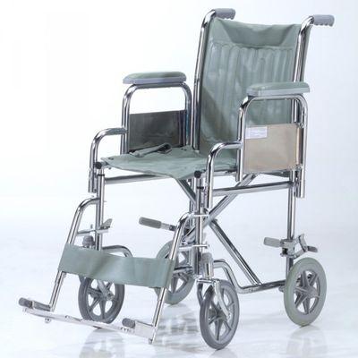 Care-Quip-Silla-De-Ruedas-De-Transporte-Cromada-A219