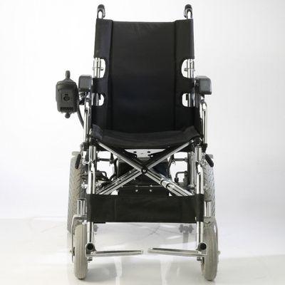 Care-Quip-Silla-De-Ruedas-Motorizada-De-Transporte--Cromada