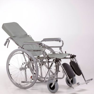 Care-Quip-Silla-De-Ruedas-Reclinable-Cromada-A311