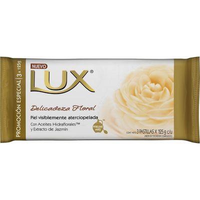 Lux-Delicadeza-Floral-Jabon-Barra-Pack-X-3-Unids-125grs-C-u
