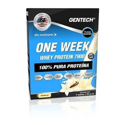 One-Week-Whey-Protein-7-Sobres-X-25grs