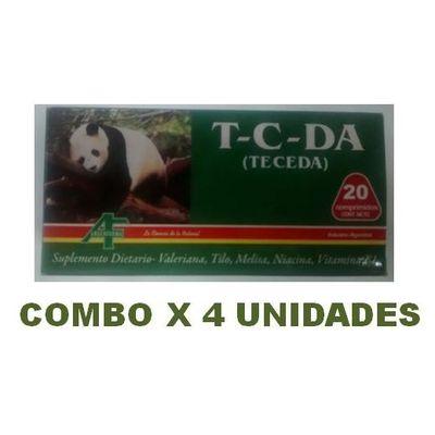 T-c-da--teceda---Suplemente-Dietario-X-20-Compr.-X-4-Unid
