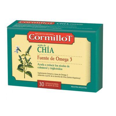 Cormillot-Aceite-De-Chia--Omega-3-Colesterol-30-Caps