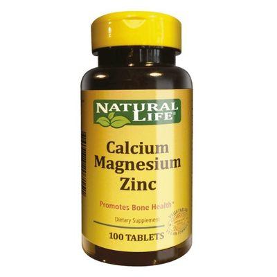 Calcium-Magnes-Zinc-X-100-Tabletas