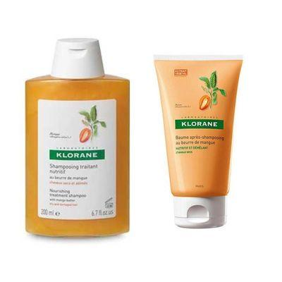 Klorane-Shampoo---Balsamo-Mango-Cabellos-Secos-Deteriorados