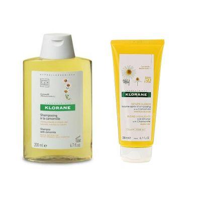 Klorane-Shampoo---Baume-Camomila-Reflejos-Rubios-Aclara