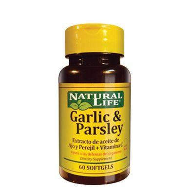 Natural-Life-Garlic---Parsley--ajo-Y-Perejil--X-60-Caps