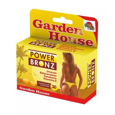 Garden-House-Power-Bronz-X-30-Comprimidos---Vitamina-E