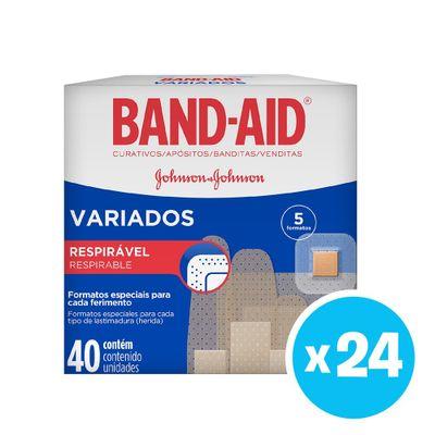 Band-aid®--Apositos-Adhesivos-Variados-40-Unds-X-24-Cajas