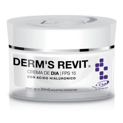 Derms-Revit-Crema-De-Dia-Humectante-Hidratante-Fps15-30g-Lda-en-Pedidosfarma