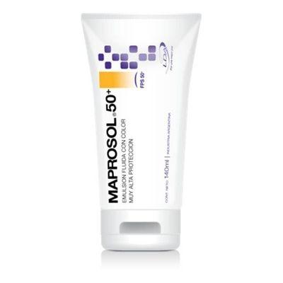 Maprosol-50--Emulsion-Fluida-Color-140ml-Protector-Solar-Lda-en-Pedidosfarma