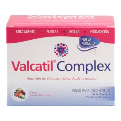 Valcatil-Complex-Polvo-15-Sobres---Nutricion-Cabellos-Uñas-en-Pedidosfarma