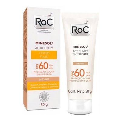 Roc-Minesol-Tinted-Fluido-Tono-Medium-Fps60-Protector-50grs-en-Pedidosfarma