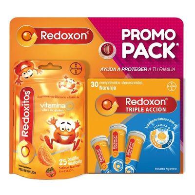 Redoxon-Pack-Triple-Accion-X-30-Comp-Eferv---Redoxitos-en-Pedidosfarma
