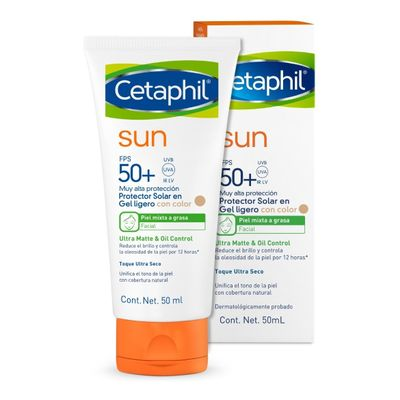 Cetaphil-Sun-Protector-Solar-50--Gel-Ligero-Con-Color-Piel-Grasa-50ml-en-Pedidosfarma