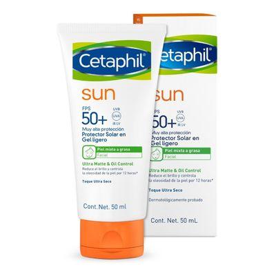 Cetaphil-Sun-Protector-Solar-50--Gel-Ligero-Piel-Grasa-50ml-en-Pedidosfarma