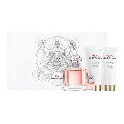 Perfume-Importado-Mujer-Mon-Guerlain-Edt-100ml---5ml-Body-Lotion-Y-Shower-Gel-en-Pedidosfarma