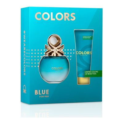 Perfume-Mujer-Benetton-Colors-Blue-Edt-80ml---Body-Lotion-en-Pedidosfarma