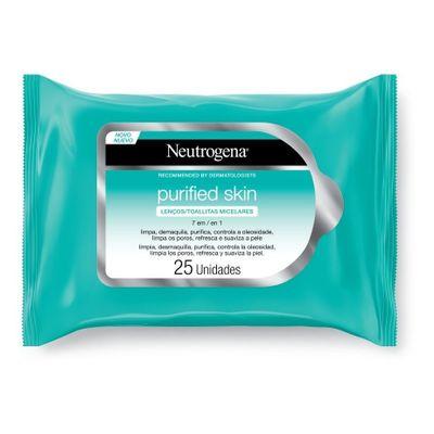 Neutrogena-Purified-Skin-Toallitas-Micelares-Limpieza-X-25-en-Pedidosfarma