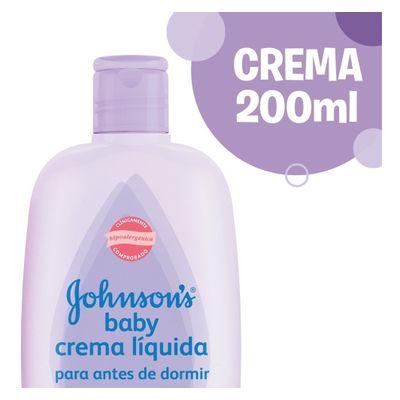 Crema-Liquida-Para-Antes-De-Dormir-Johnson-s-Baby-200ml-en-Pedidosfarma