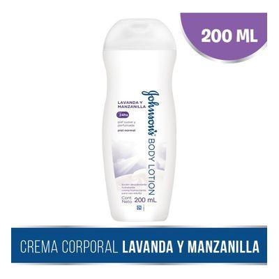 Johnson-s-Body-Lotion-Lavanda-Y-Manzanilla-200ml-en-Pedidosfarma