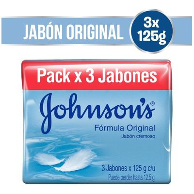 Johnson-s-Jabon-Adulto-Original-3-X-125-Gr-en-Pedidosfarma