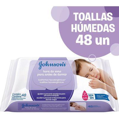 Toallitas-Humedas-Johnson-s-Baby-Hora-Del-Sueño-X48-en-Pedidosfarma