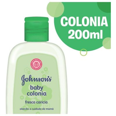 Colonia-Fresca-Caricia-Johnson-s-Baby-200ml-en-Pedidosfarma